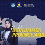 Pendaftaran Pemilihan Duta Bahasa Provinsi Jambi 2021