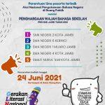 Penentuan lima peserta terbaik PENGHARGAAN WAJAH BAHASA SEKOLAH PROVINSI JAMBI TAHUN 2021